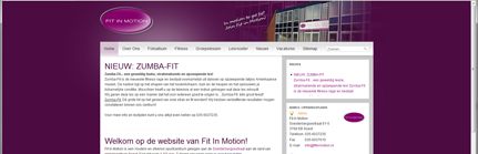 Fit In Motion online met nieuwe website